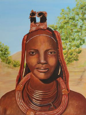 Himba vrouw Namibië